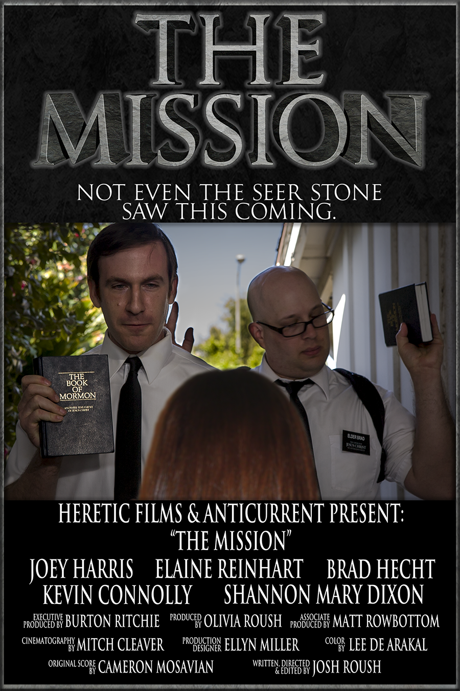 The Mission Poster by Josh Roush